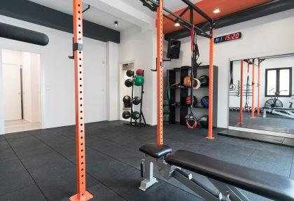 Sala functional training e crossfit